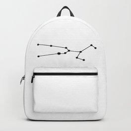 Taurus Astrology Star Sign Minimal Backpack