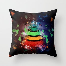 The Social Stratification Throw Pillow