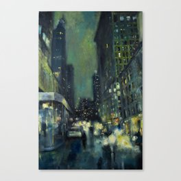 Into the Gaslight Canvas Print