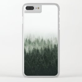 High And Low Clear iPhone Case