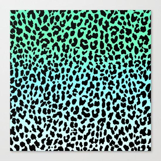Cool Leopard Canvas Print