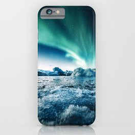 jokulsarlon lagoon iPhone Case