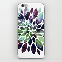 Flower Painting iPhone Skin