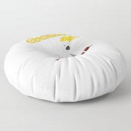 Cockatoo Cockatiel Parrot  Lover Floor Pillow