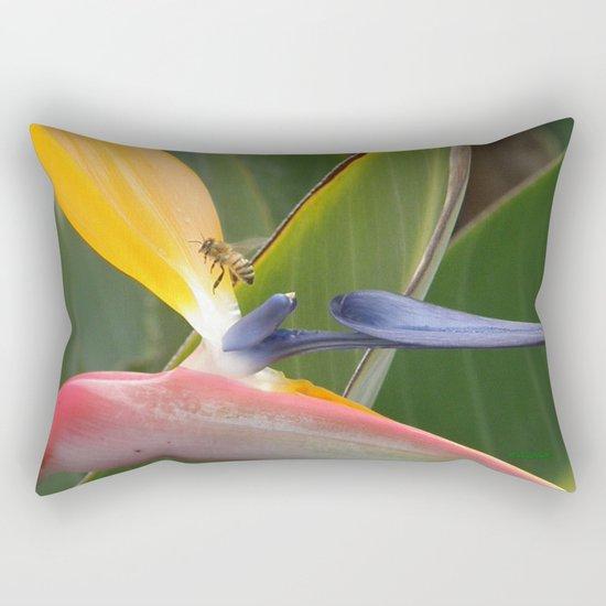 Exiting Paradise Rectangular Pillow