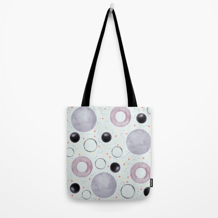 Watercolor bubbles Tote Bag