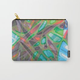 Colorful Abstract Stained Glass G299 Carry-All Pouch