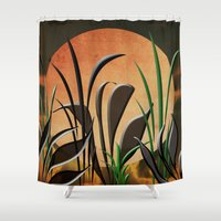 twilight Shower Curtains featuring Twilight by Judith Lee Folde Photography & Art