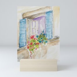 Old World Window Mini Art Print