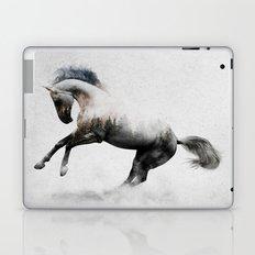 White Stallion Laptop & iPad Skin