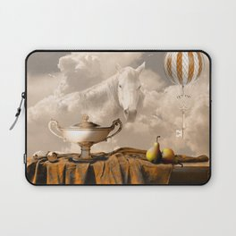 Still Life with pears Laptop Sleeve