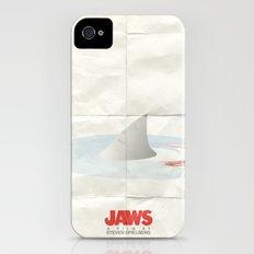 Jaws iPhone (4, 4s) Slim Case