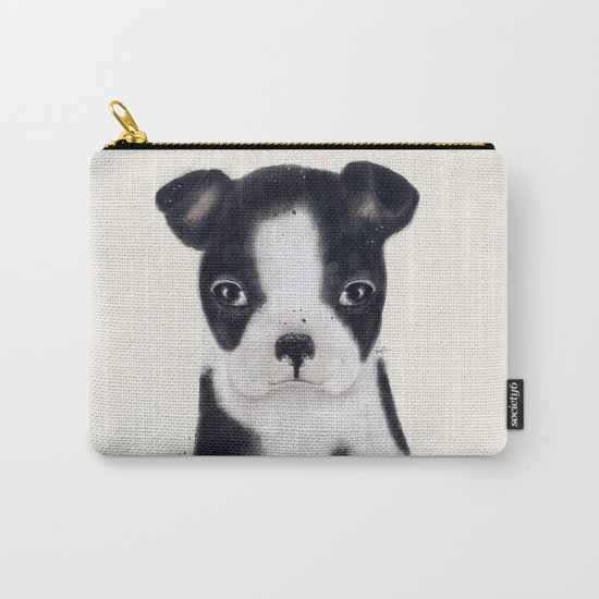 little boston terrier Carry-All Pouch
