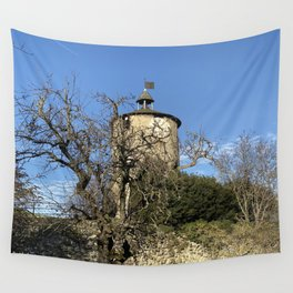 Castella Tower Wall Tapestry