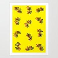 Cycledelic Art Print