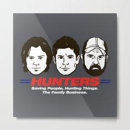 Hunters Metal Print