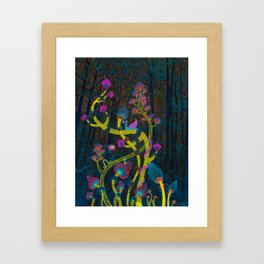 Magic mushrooms Framed Art Print