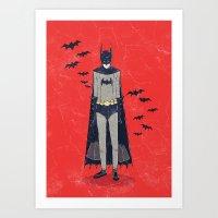 Batshop Art Print