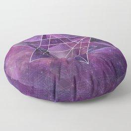 Metatron's Merkaba  Floor Pillow