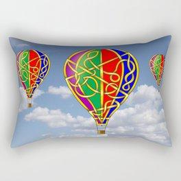 Balloon Knot Rectangular Pillow