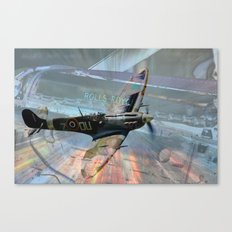 Rolls-Royce Merlin Canvas Print