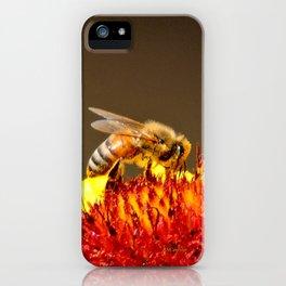 Pollenator at Work iPhone Case