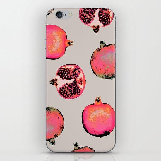 Pomegranate Pattern iPhone & iPod Skin