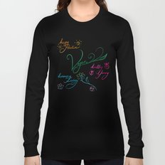 Vegan & happy lifestyle Long Sleeve T-shirt