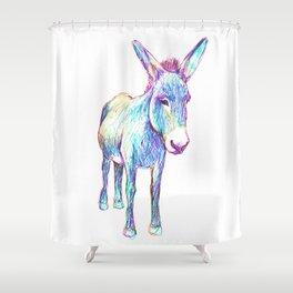 Colourful Donkey Shower Curtain