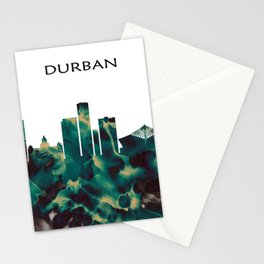 Durban Skyline Stationery Cards