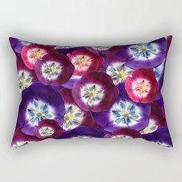 Tulips Pop Rectangular Pillow