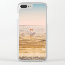 Empty Chair Project I - Salton Sea, CA Clear iPhone Case