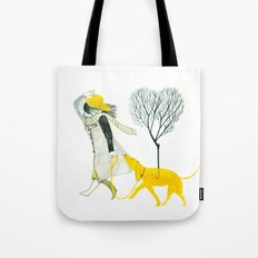 LOVE AND DOGS Tote Bag