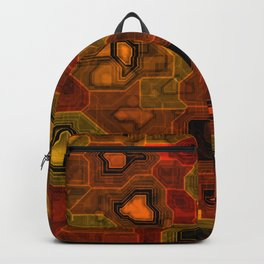 Coloured circuitry Backpack
