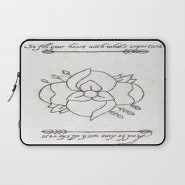 La Dispute Logo Tattoo Laptop Sleeve