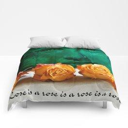 ROSE - quote Comforters