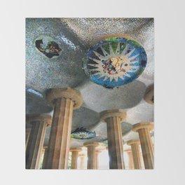 Gaudi Series - Parc Güell No. 2 Throw Blanket