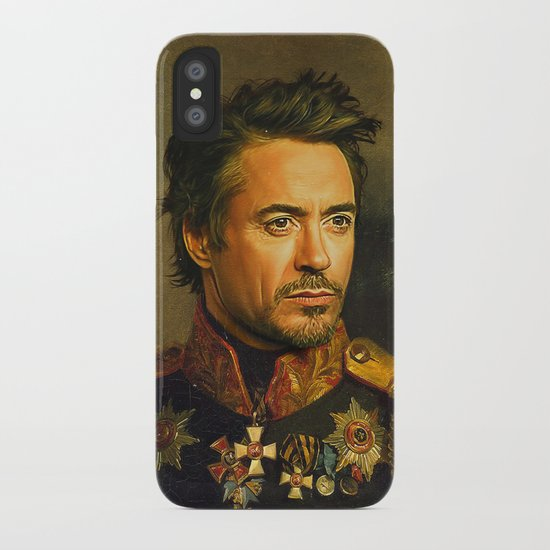 Robert Downey Jr. - replaceface iPhone Case