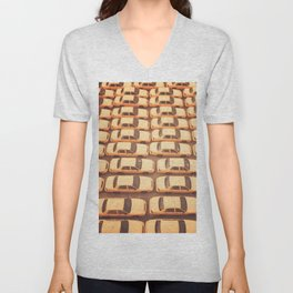 New York City Yellow Taxis Print -  NYC photography Unisex V-Neck