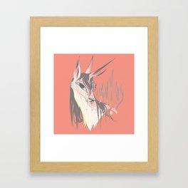 MELANCHOL Kirin Framed Art Print