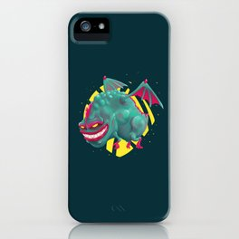 Kandy the Toxic Dragon iPhone Case