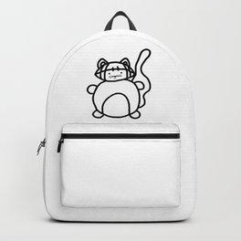 Football Cat Backpack