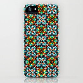 Native American Fashion Pattern Seven iPhone Case