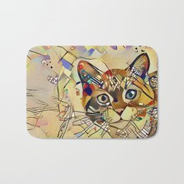 Cat Basil Bath Mat