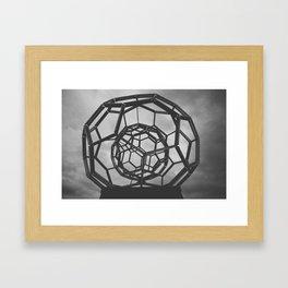 Hexasphere Framed Art Print