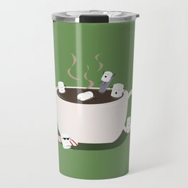 Marshmallow Hot Tub Travel Mug