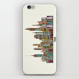 Tulsa oklahoma iPhone Skin