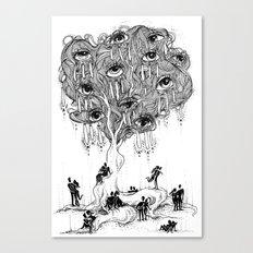 EscapeEyes Canvas Print