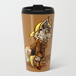 Doggo Punk Travel Mug