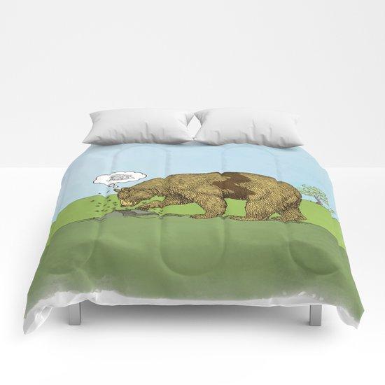 Charlie Brown Bear Comforters